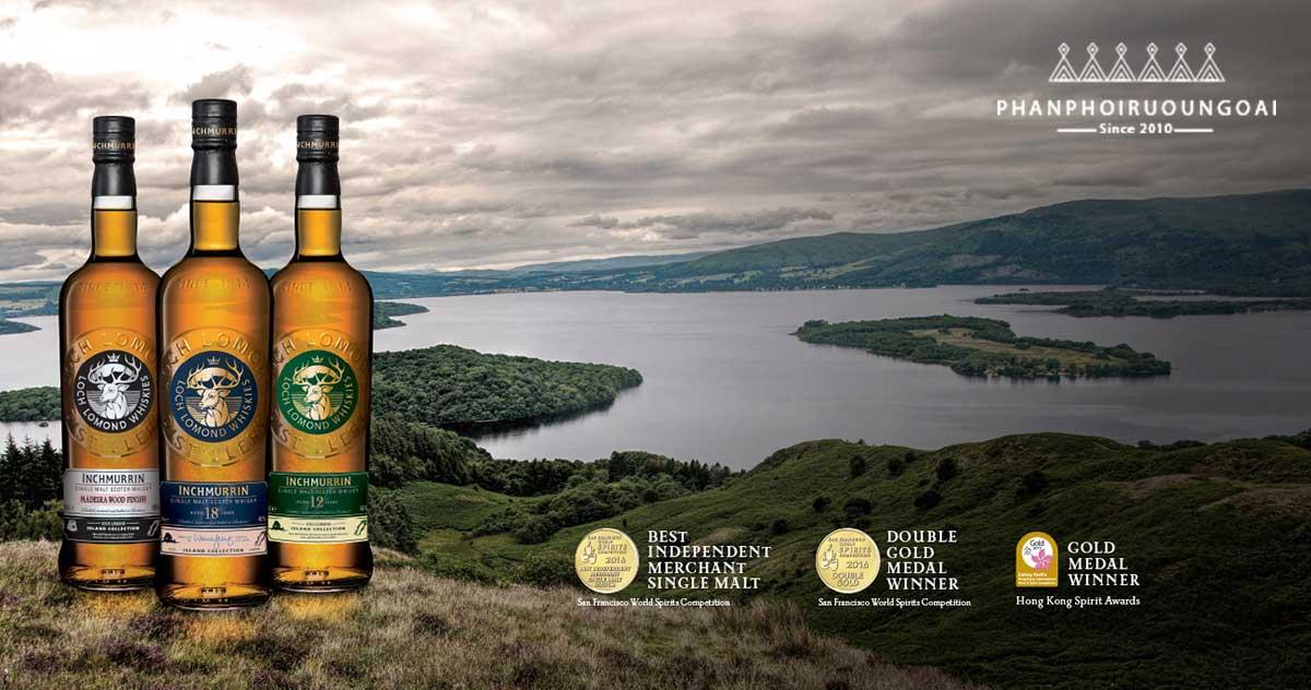 Các loại rượu danh tiếng của nhà Loch Lomond