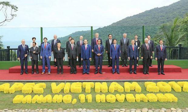 Các vị lãnh đạo trong APEC 2017