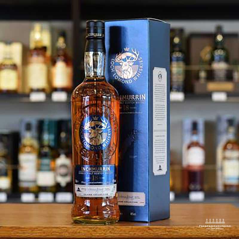 hình ảnh của Rượu Inchmurrin 18 năm tuổi SIngle Malt Scotch Whisky