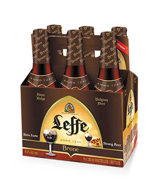 Hộp 6 chai bia Leffe nâu 330 ml
