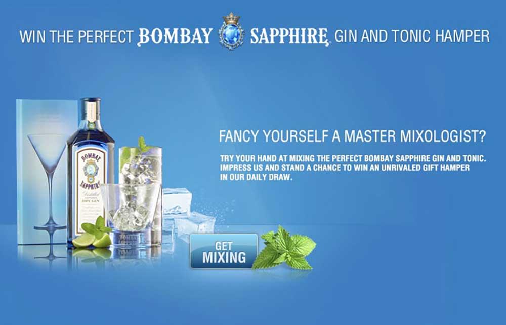 Rượu Bombay Sapphire tuyệt hảo cho những ly cocktail mùa hè