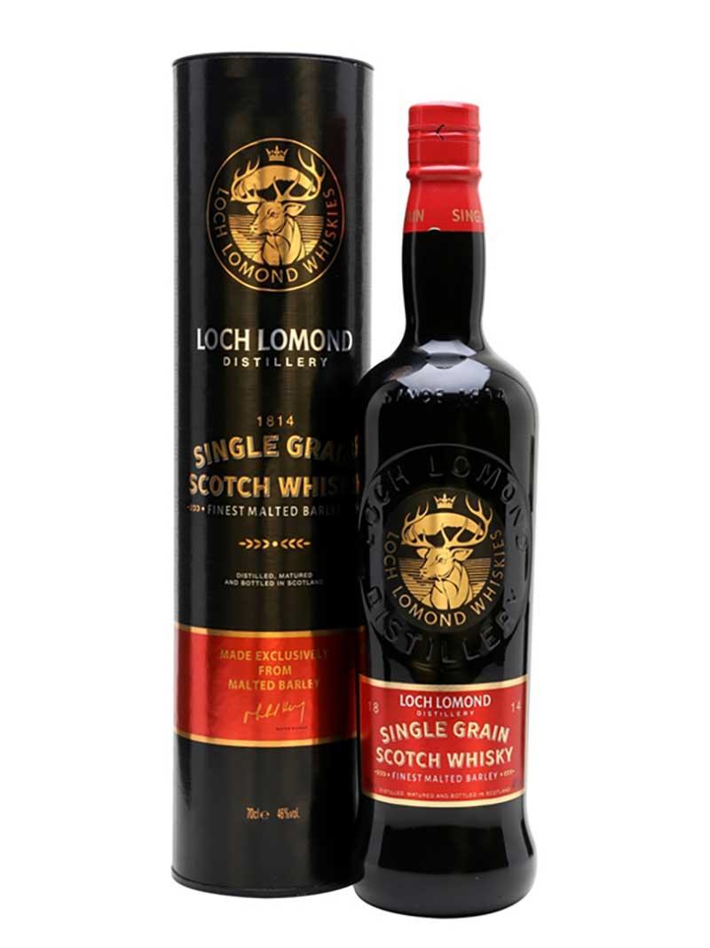 Rượu Loch Lomond Single Grain và hộp