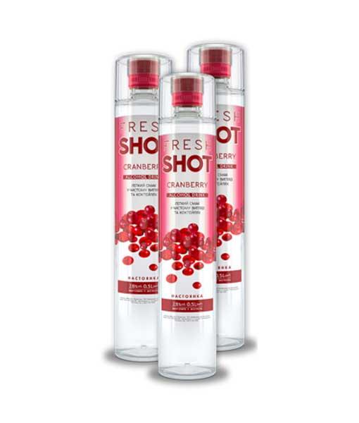 Rượu nhẹ Fresh Shot Cranberry