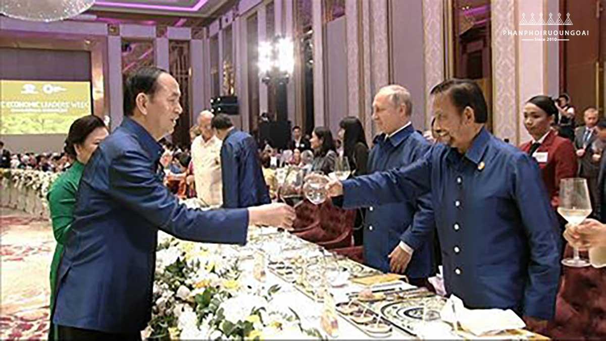 Rượu vang Chateau Dalat tự hào phục vụ APEC 2017