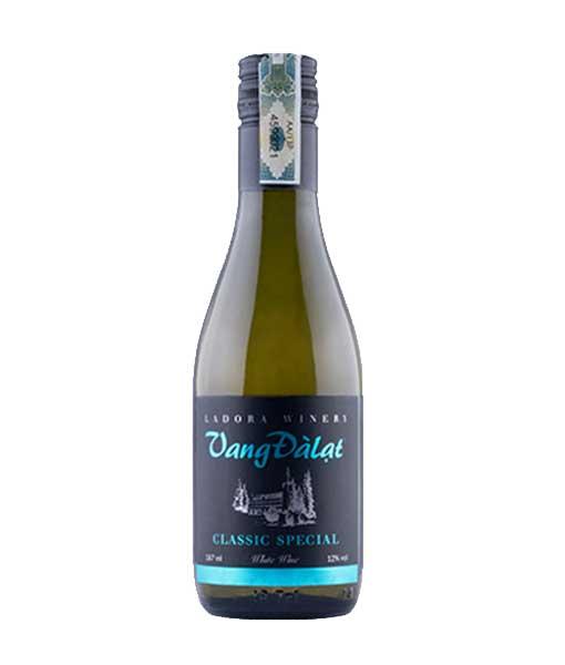 Rượu vang đà lạt classic special white wine 187 ml