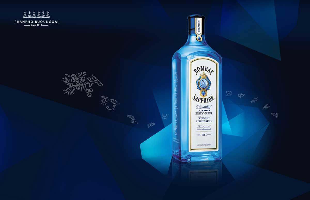 Rượu Bombay Sapphire - Rượu Gin Nổi tiếng của Anh Quốc