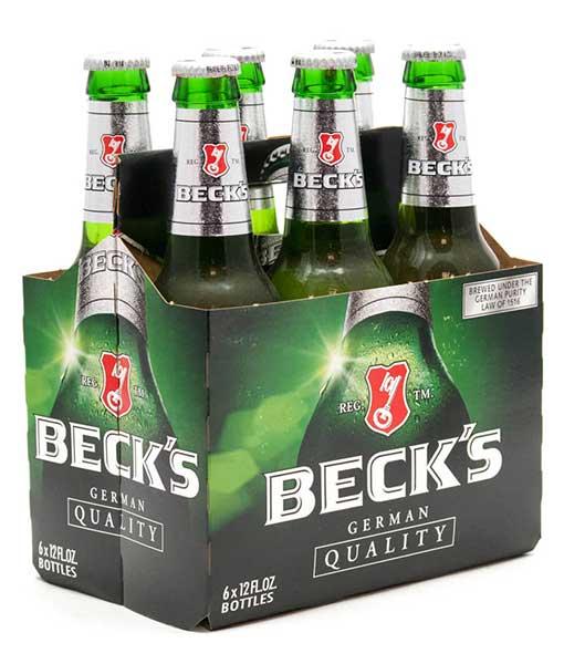 Thùng 6 chai bia Beck