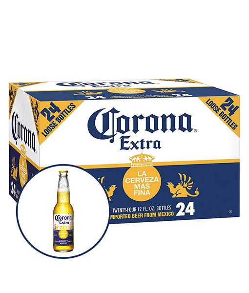 Thùng bia Corona 24 chai 355 ml
