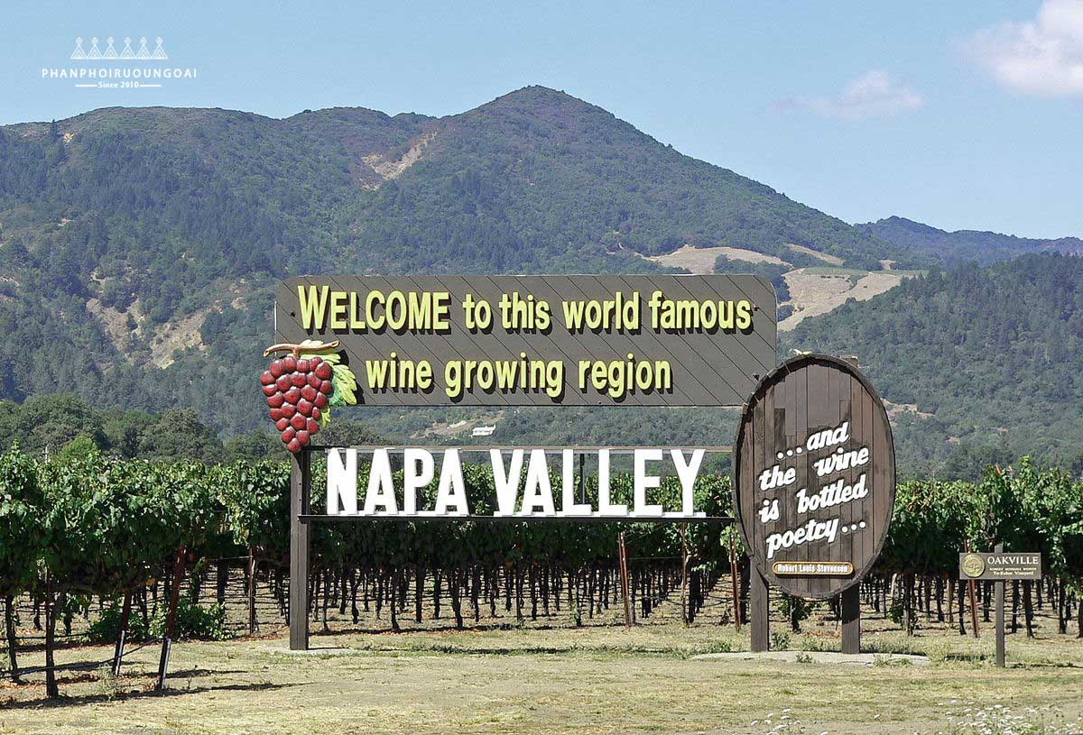 Rượu vang Napa Valley