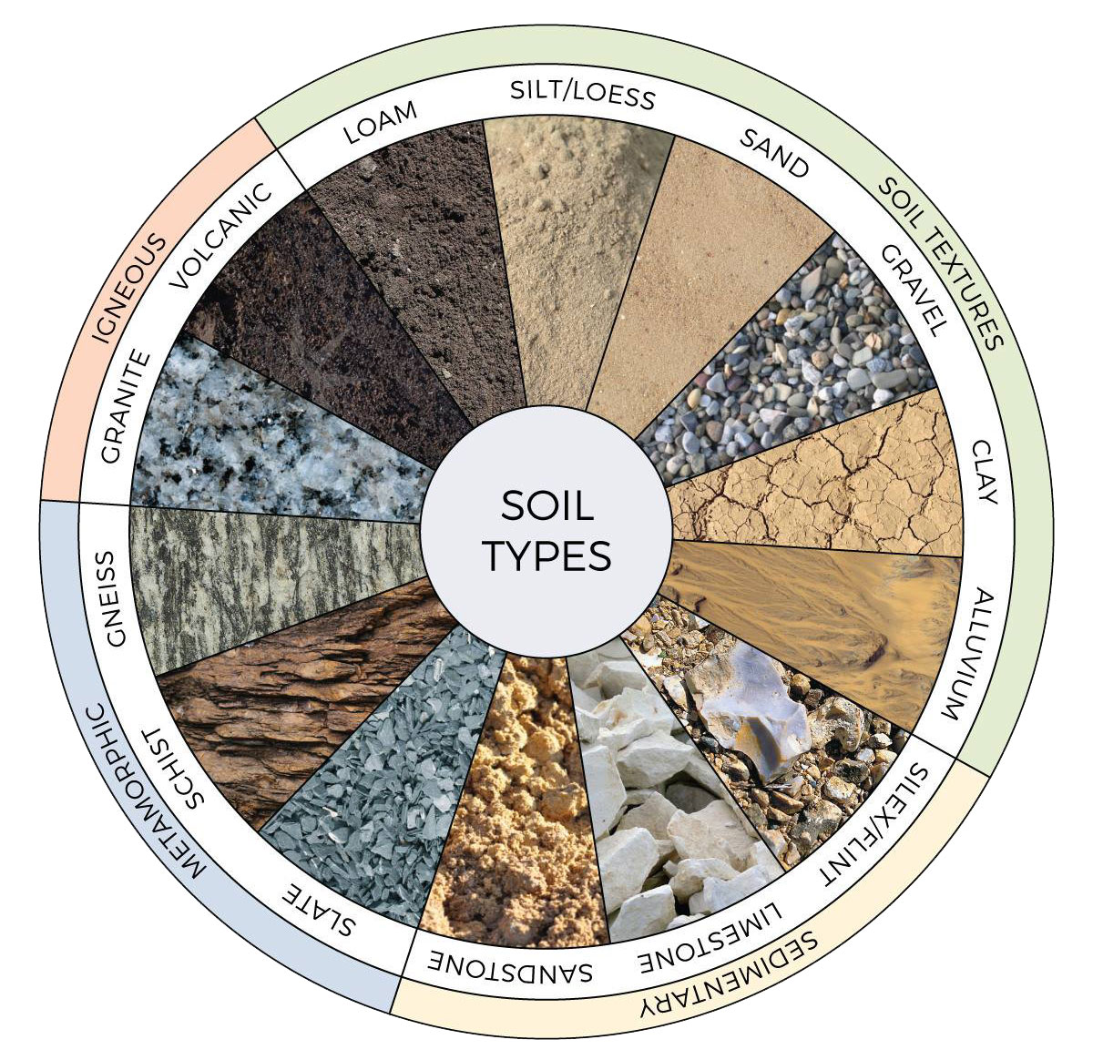 14 loại đất thường được dùng để trồng nho