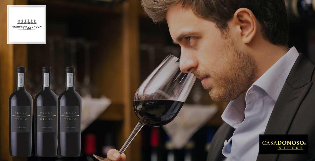 Quý ông đẳng cấp và rượu vang Casa Donoso Perla Negra