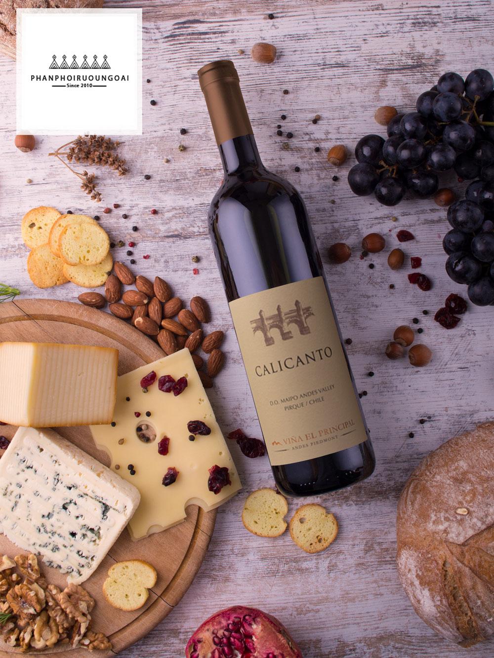 Rượu Calicanto đến từ Chile