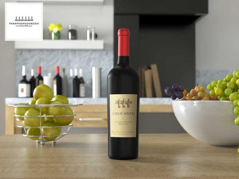 Rượu Vang Calicanto trong căn bếp gia đình 2018
