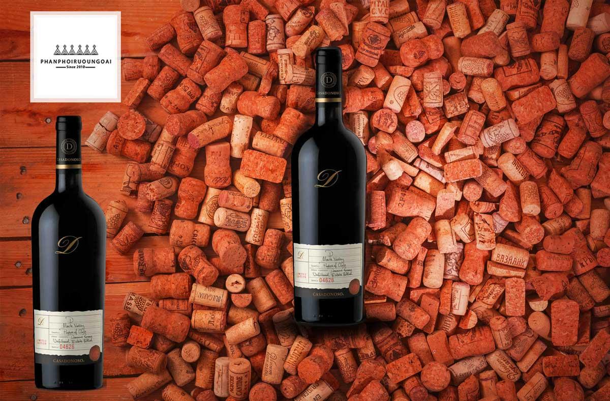 Rượu Vang Casa Donoso D biểu tượng của chất lượng rượu vang