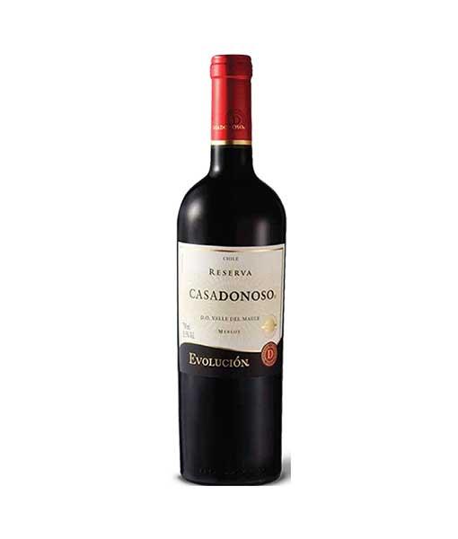 Rượu Vang Casa Donoso Evolución Merlot