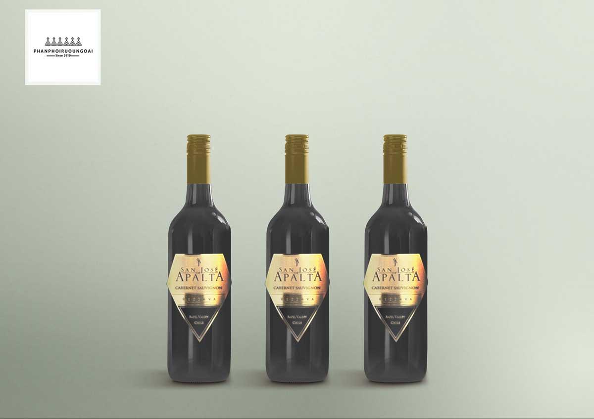 Rượu Vang San José de Apalta Reserva Cabernet Sauvignon