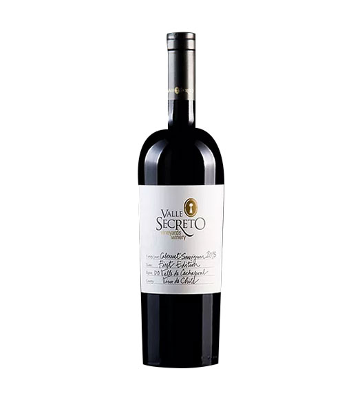 Rượu Vang Valle Secreto First Edition Cabernet Sauvignon