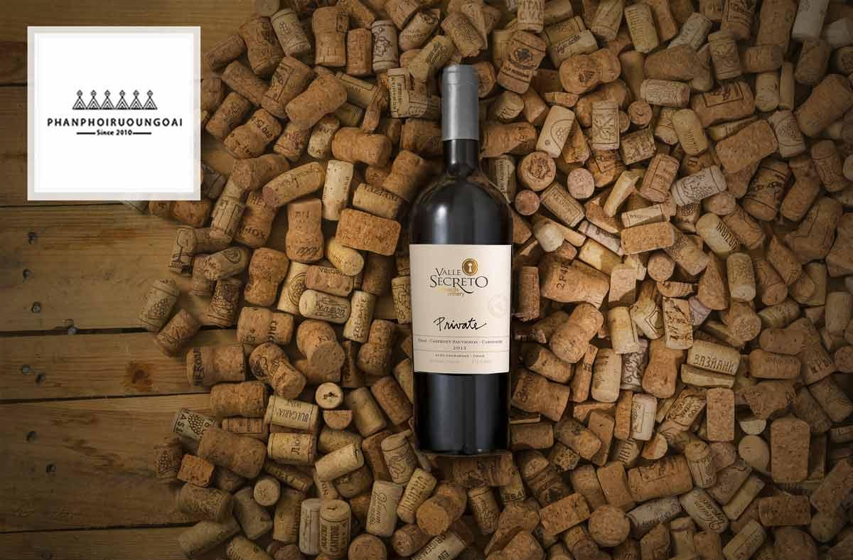 Rượu Vang Valle Secreto Private blend