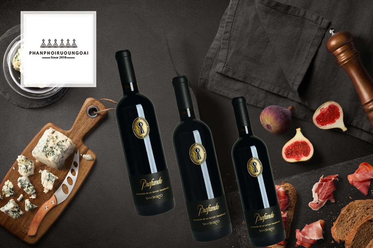 Rượu vang Valle Secreto Profunto