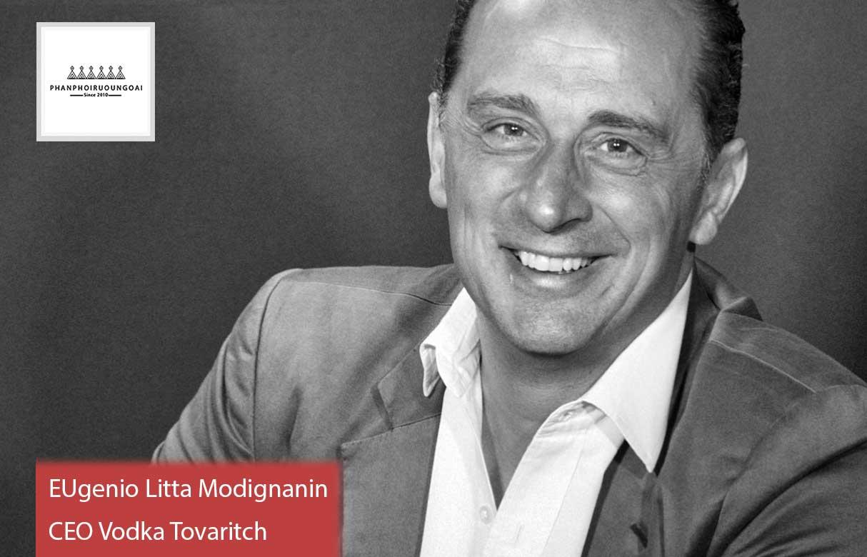 CEO Eugenio Litta Modignani của Vodka Tovaritch