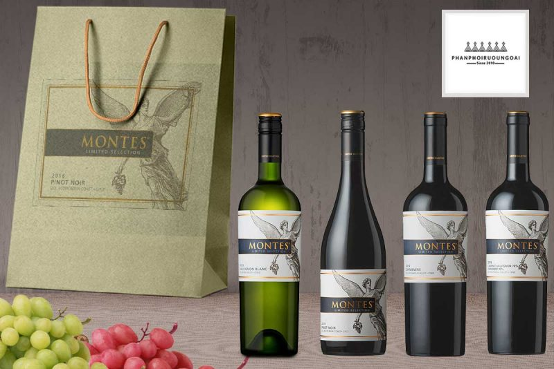 Các loại rượu Vang Montes Limited Selection