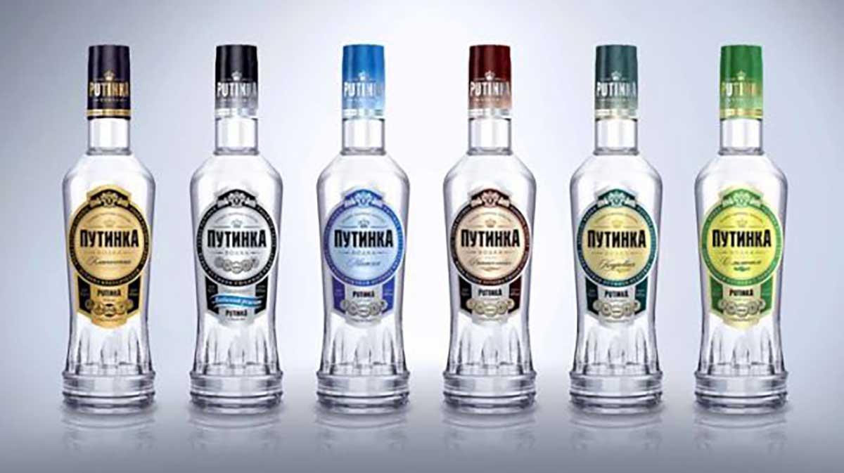 Các loại rượu Vodka Putinka