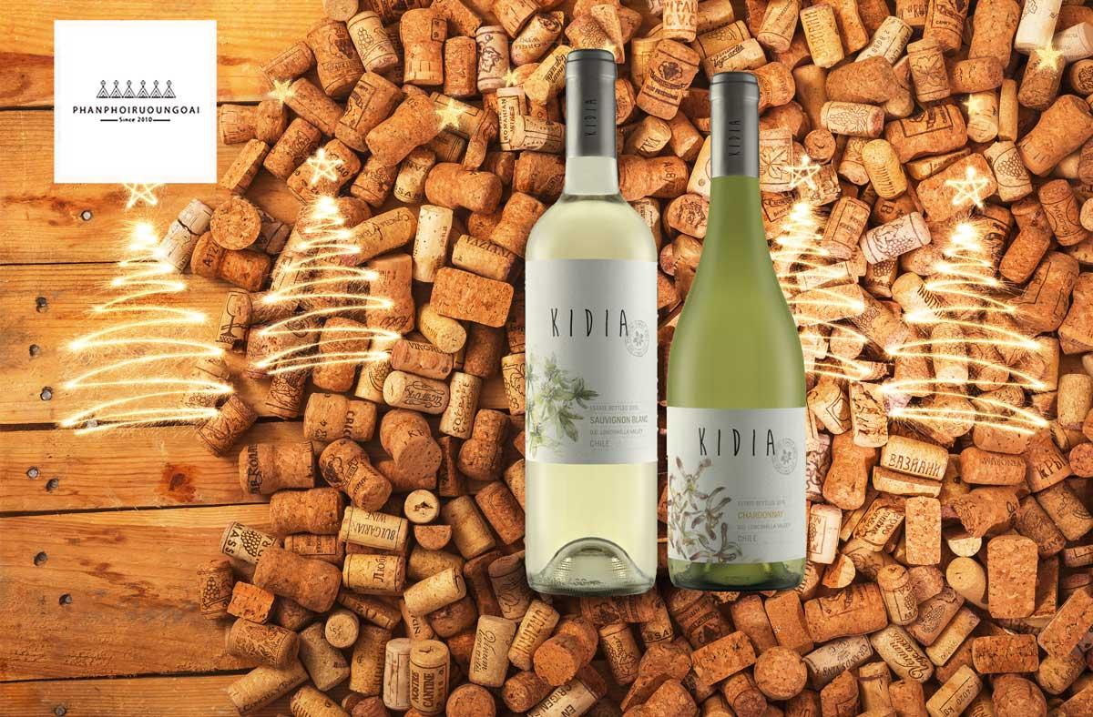 Cặp đôi rượu vang trắng của Kidia