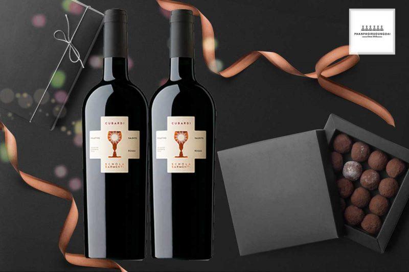 Hình ảnh đep của rượu vang Schola Sarmenti Cubardi 750 ml