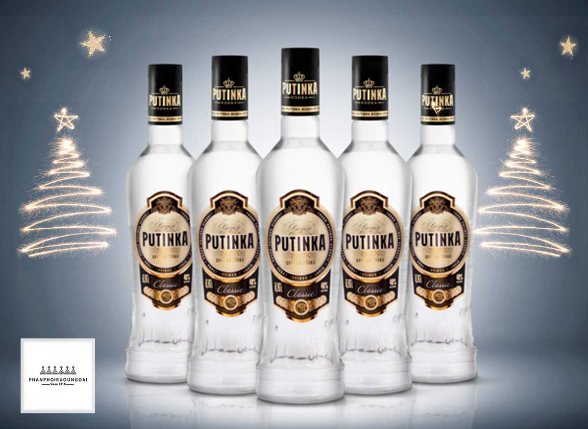 Rượu Vodka Putinka 500 ml