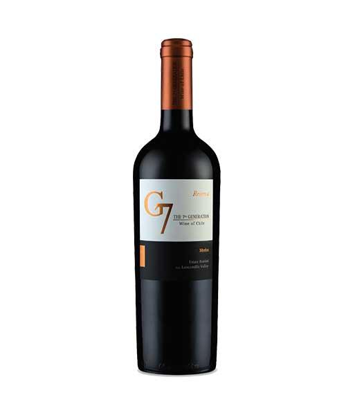 Rượu vang G7 Generation Reserva Merlot