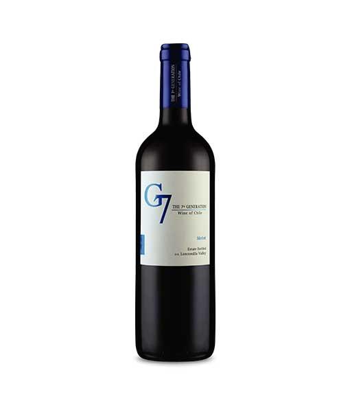 Rượu vang G7 Merlot