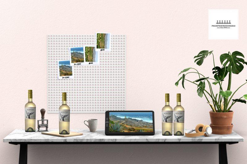Rượu Vang Montes Classic Series Sauvignon Blanc và tiểu cảnh