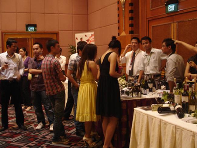 Việt Nam tiêu thụ rượu vang tốt nhất châu á