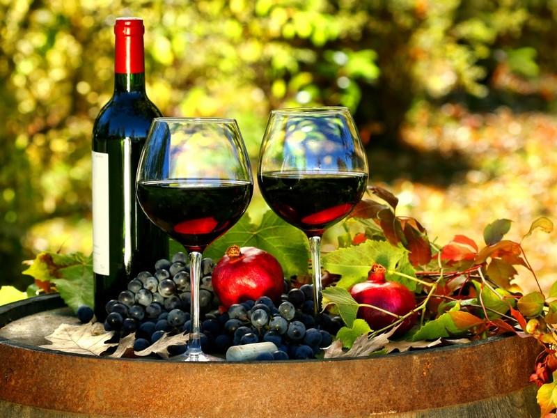 công dụng tuyệt vời của rượu vang