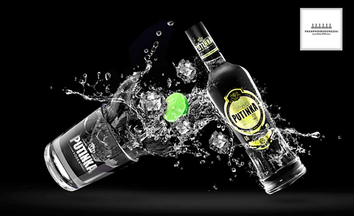 Rượu Vodka Putinka tuyệt hảo cho các ly Cocktail mùa hè