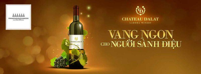Rượu vang Chateau Dalat - Vang ngon cho người sành