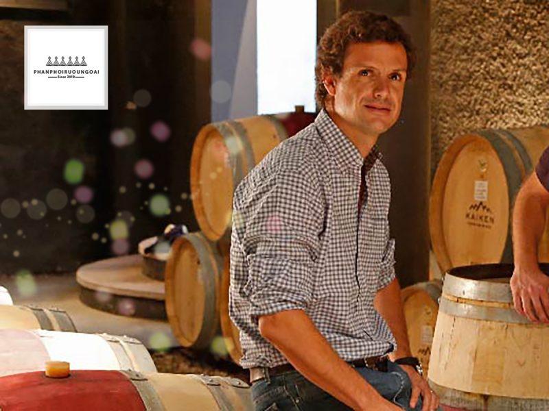 Winemaker's Aurelio Montes của nhà làm vang Montes