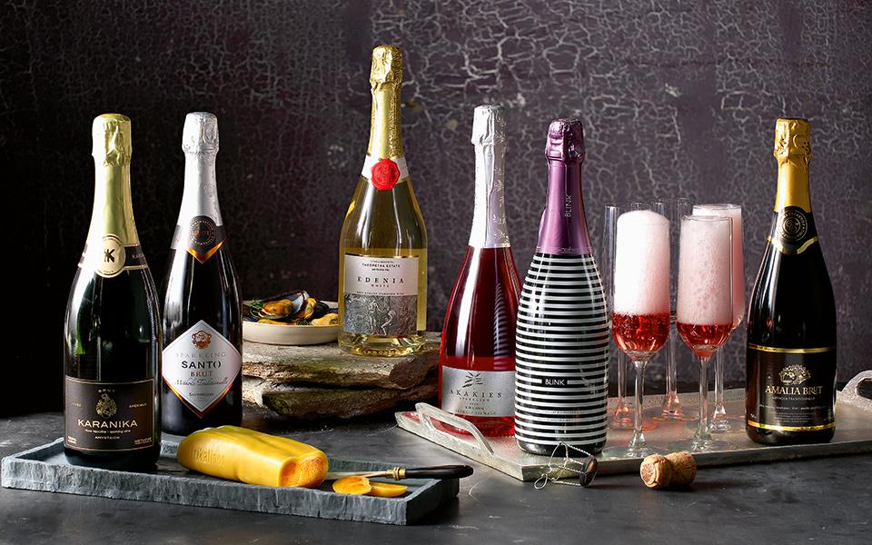 Các loại rượu vang sủi , phương thức sản xuất Sparkling Wines