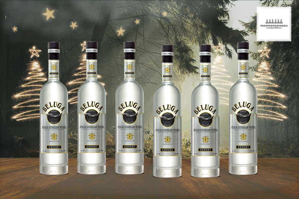 Bộ sưu tập rượu Vodka Beluga Noble 500 ml