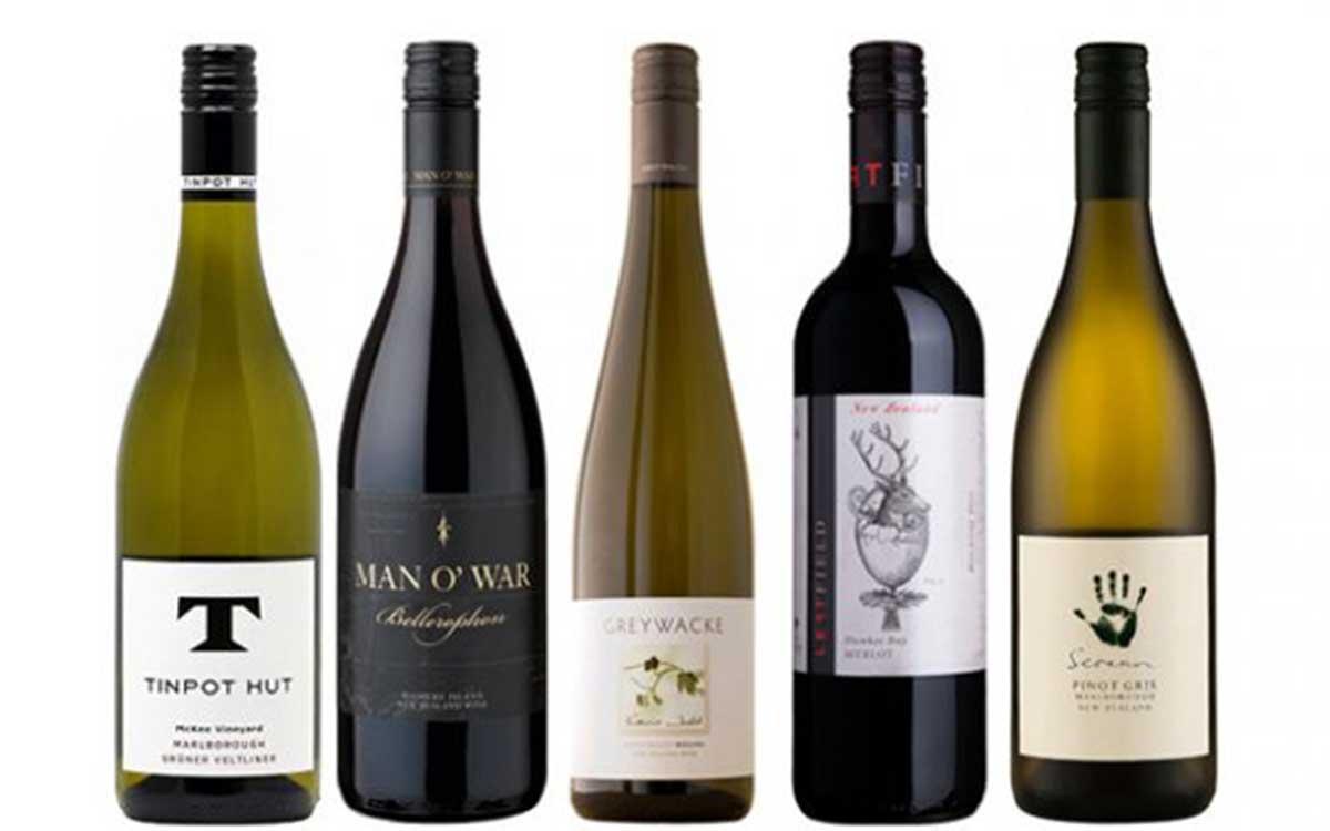 Các loại rượu vang nổi tiếng của New Zealand