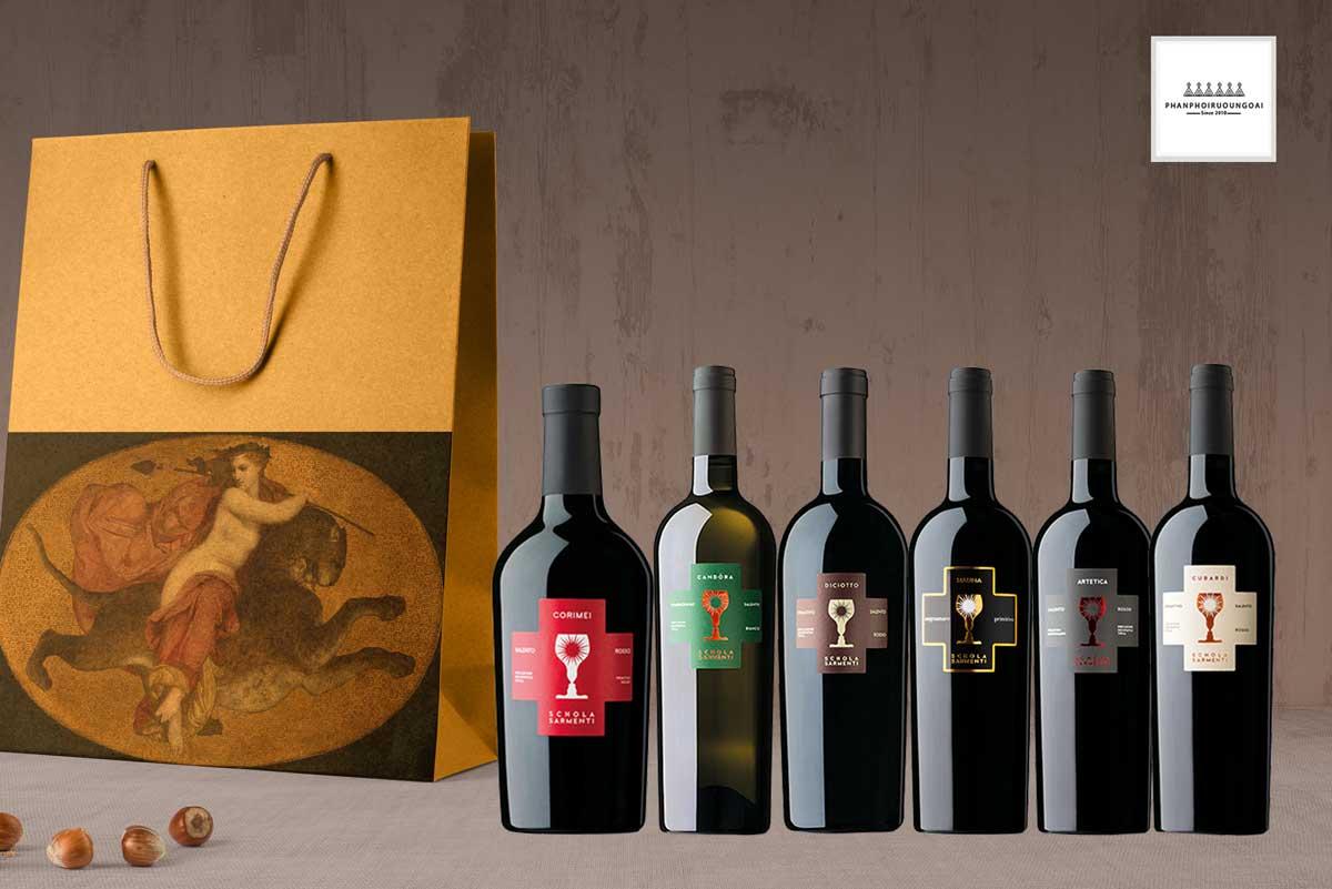 Các loại rượu vang Schola Sarmenti chất lượng và đẳng cấp