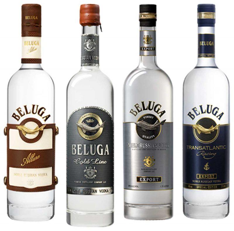 Các loại rượu Vodka Beluga - Nga