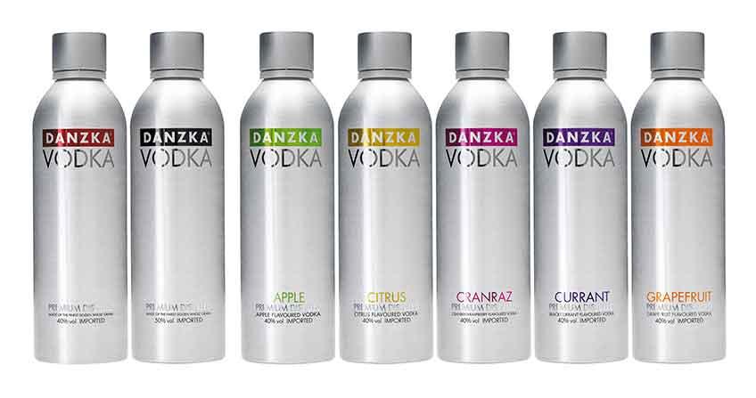Các loại rượu Vodka Danzka