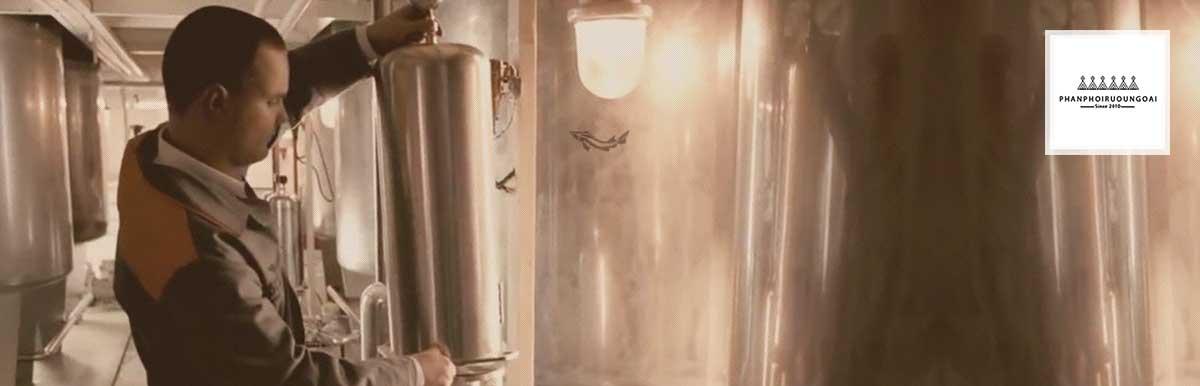 Công nghệ ủ rượu từ 30 - 90 ngày của Vodka Beluga