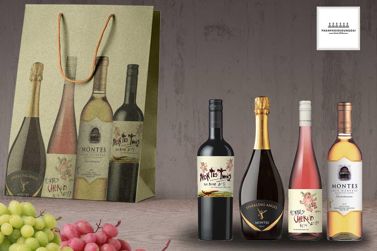 Dòng sản phẩm rượu vang Montes Special Wines