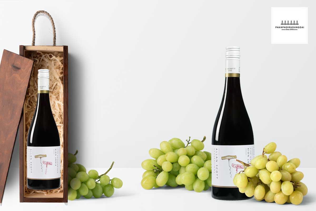 Hình ảnh rượu vang Allan Scott Pinot Noir 2016