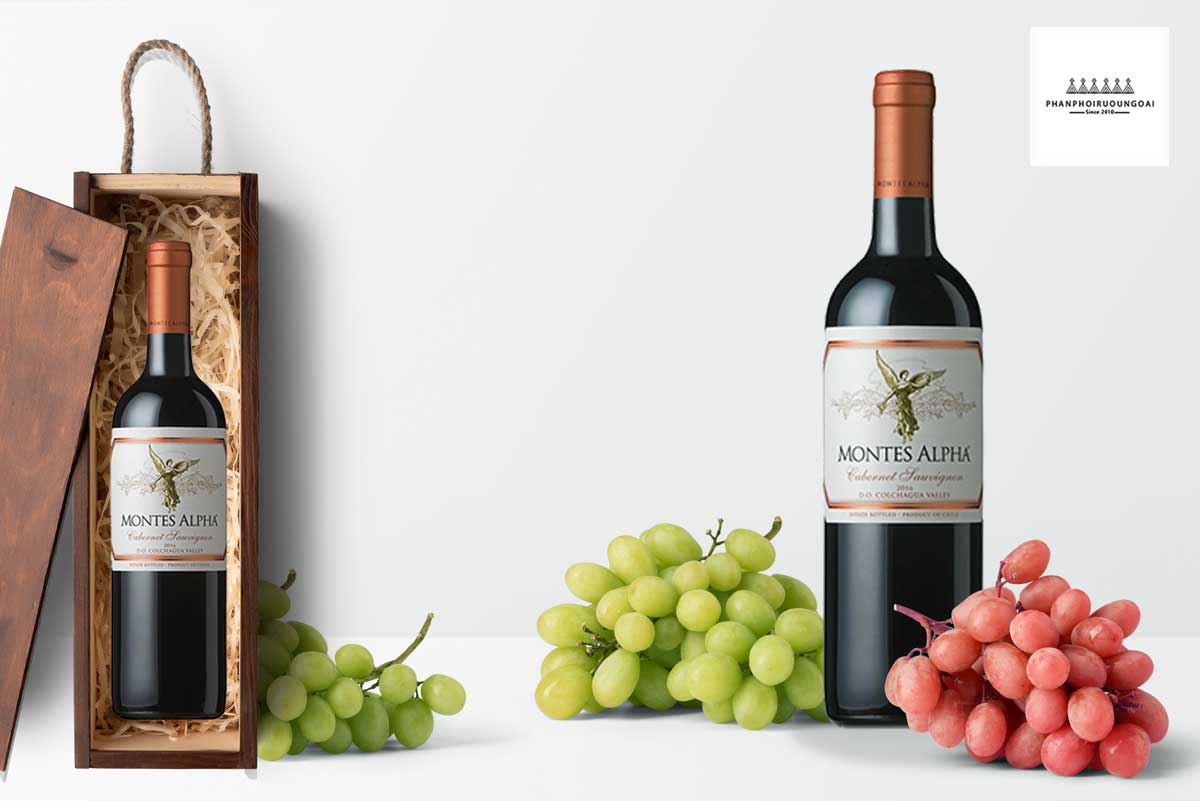 Hình ảnh rượu vang Montes Alpha Cabernet Sauvignon