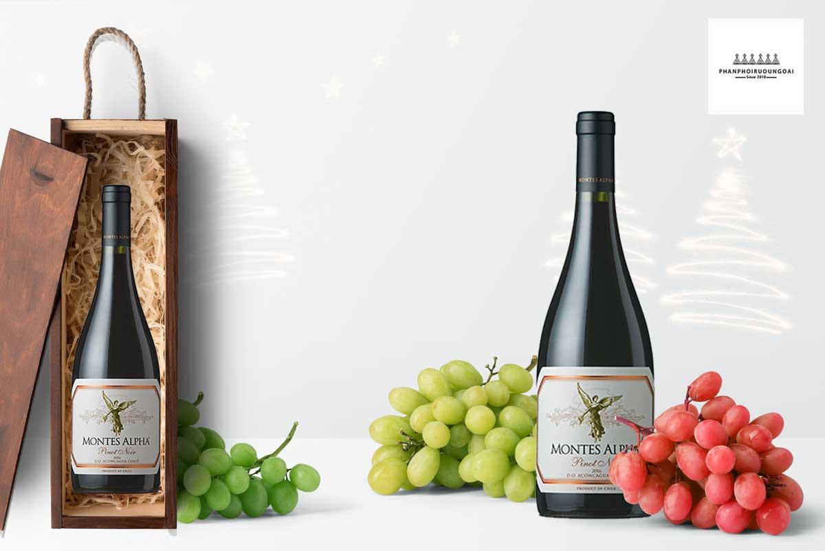 hình ảnh rượu vang Montes Alpha Pinot Noir 2016