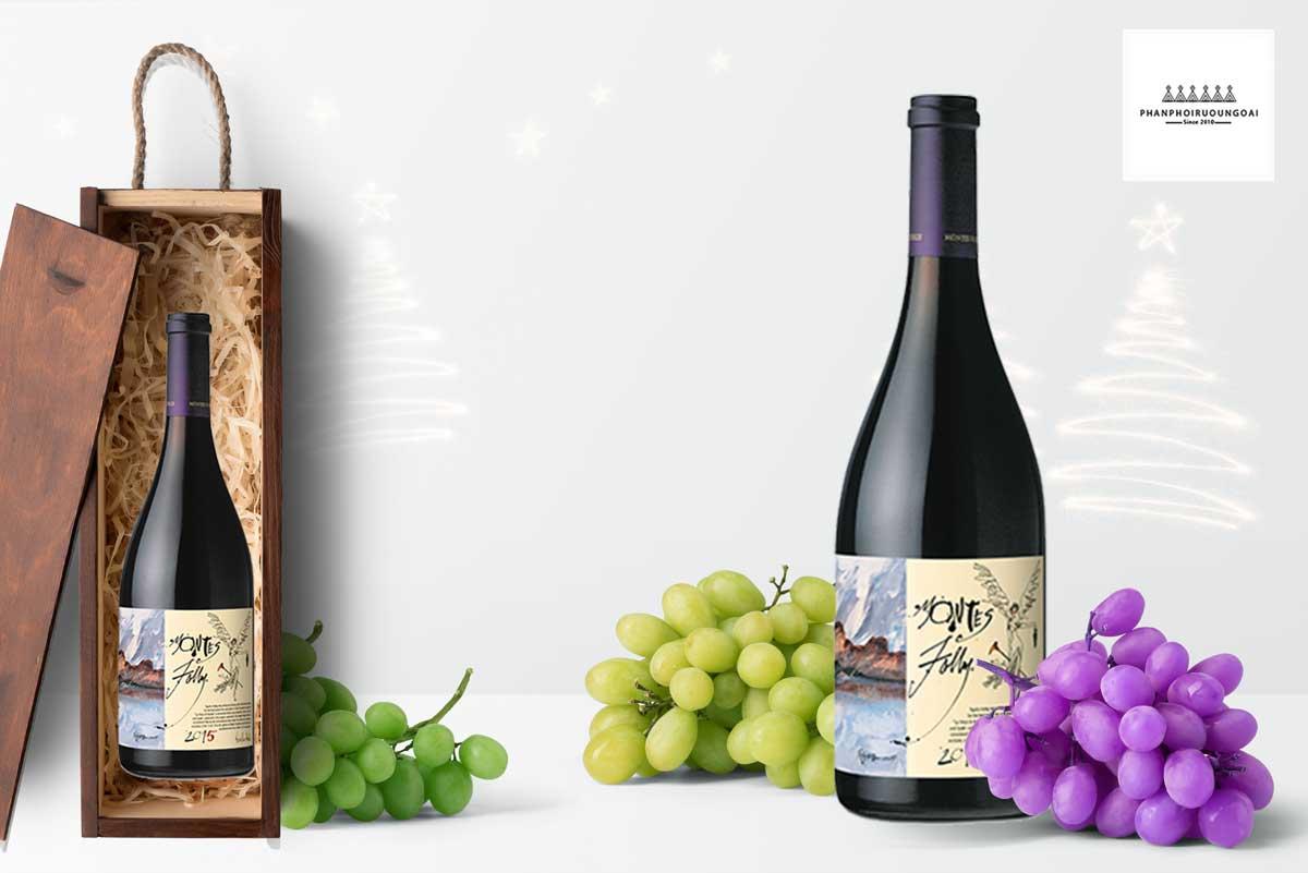 hình ảnh rượu vang Montes Folly - Icon Wine