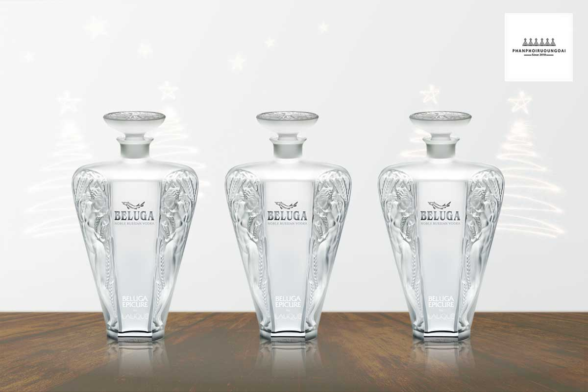 Rượu Vodka Beluga Epicure by Lalique